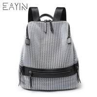 Canvas Backpack Women Fashion Backbags For Teenage Girls Rucksacks Backpack Female School Bags Travel Shoulder Bag