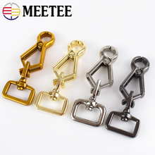 Meetee 2/4pcs Bag Hang Buckle Lobster Clasps DIY Key Chain Shoulder Strap Luggage Collar Snap Hooks Hardware Accessory BD364