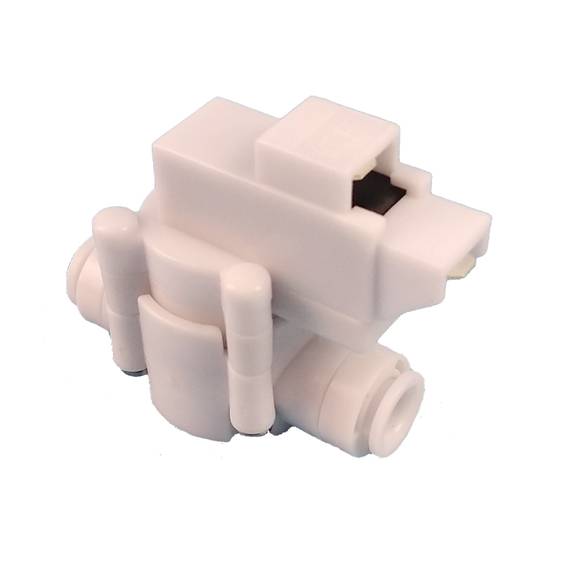 1PCS 1/4 inch hose connection 1/4 OD Tube Quick Fitting Reverse Osmosis Tank High Pressure Switch For RO Water Aquarium System 1 4 od tube tee type pe pipe fitting hose plastic quick connector aquarium ro water filter reverse osmosis system