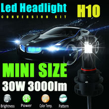 New H10 9145 9140 9040 Led Bulbs 60W to Replace Led Fog & Led Headlight&Led Headlamp&Daytime Running Light DRL 6000K Cool White