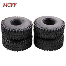 120MM 1.9 Rubber Tyres / Wheel Tires for 1:10 RC Rock Crawler Car SCX10 90047 D90 D110 TF2 TRX4