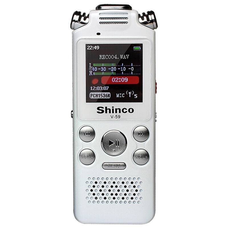 Voice Recorder Dictaphone 8GB Audio Sound Portable Rechargeable Playback Noise Cancellation A-B Repeat Sleep Timer MP3 Player все цены