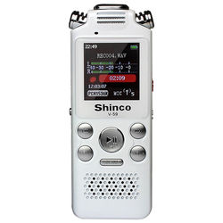 Voice Recorder Dictaphone 8GB Audio Sound Portable Rechargeable  Playback Noise Cancellation A-B Repeat Sleep Timer MP3 Player