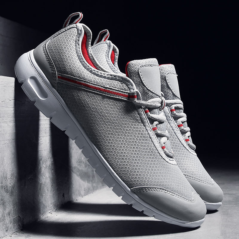Men and women sneakers sumemr unisex shoes basket femme outdoor light sports running shoes black red gray large size 11 12 13