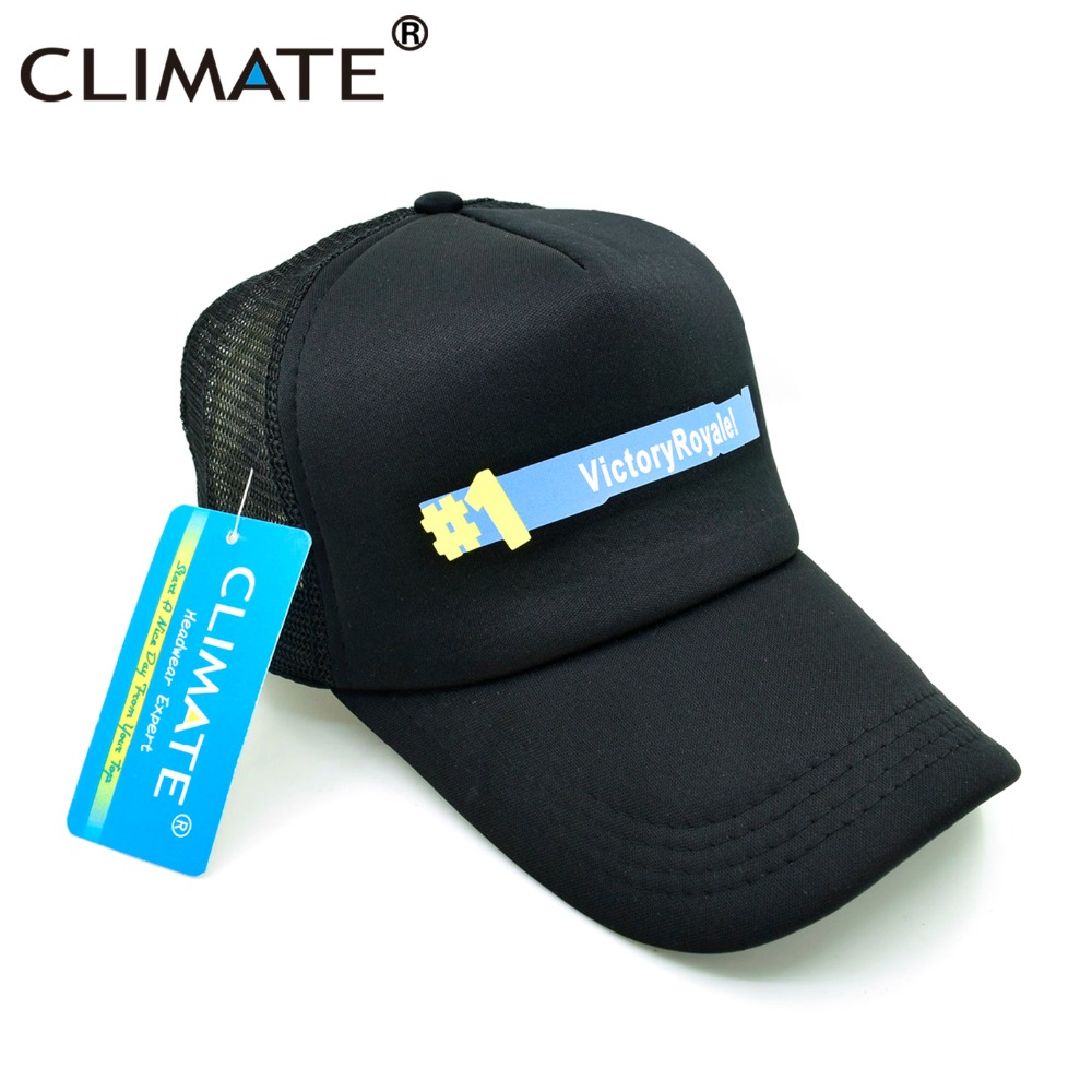 CLIMATE Fortnite Trucker Cap Hat Hot New Game Fortnite Fans Cool Mesh - Kläder tillbehör - Foto 5