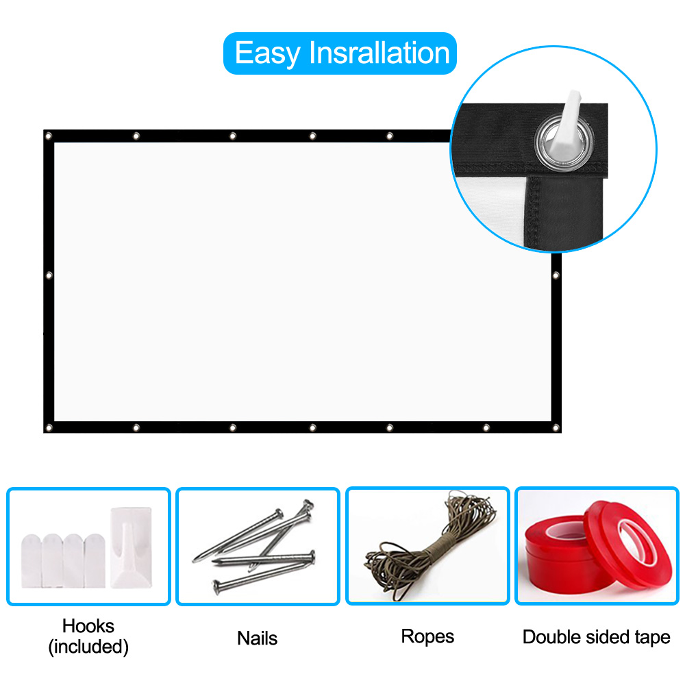 hd projector screen