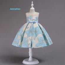 Платье для девочки janeygao с цветами свадебной вечеринки свежее