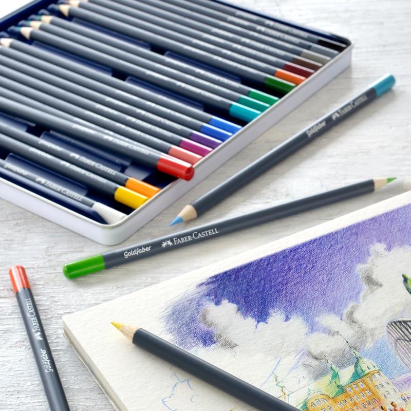 Coloridos para Lapis de Cor Madeira Esboço Pintura Escola Fontes