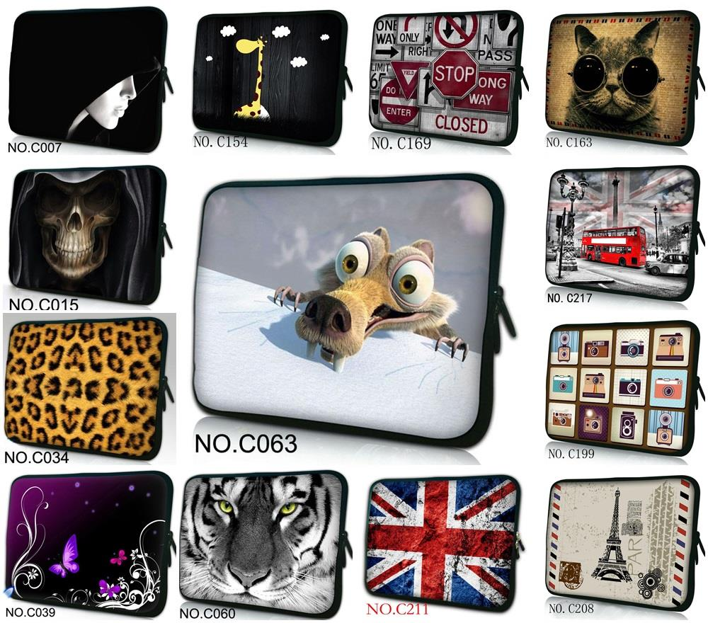 10 Fashion Designs Laptop Sleeve Bag Case Pouch For 10.1 Acer Aspire One/Sumsang NC10 PC /10.1 ASUS Eee Pad TF10 Tablet PC
