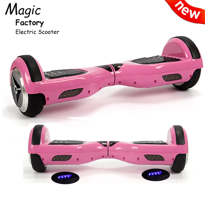 Balance Board With Roller: Skywalker Roller Board Pink Electric Scooter Hoverboard 6