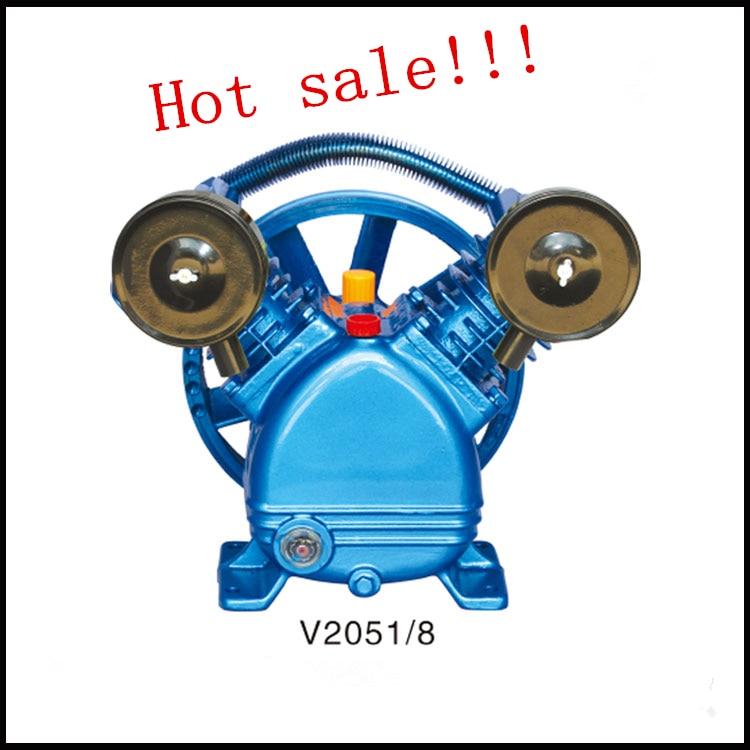 V2090/8/12.5  220V/380V 4KW portable piston belt driven air compressor piston  head for air compressor