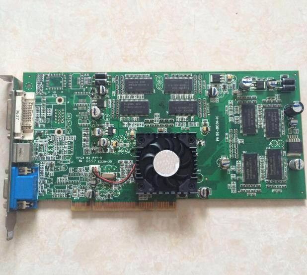 30 10119 01 REV. A1 3X PBXGG AA ATI Radeon 7500 64 МБ видеокарта PCI