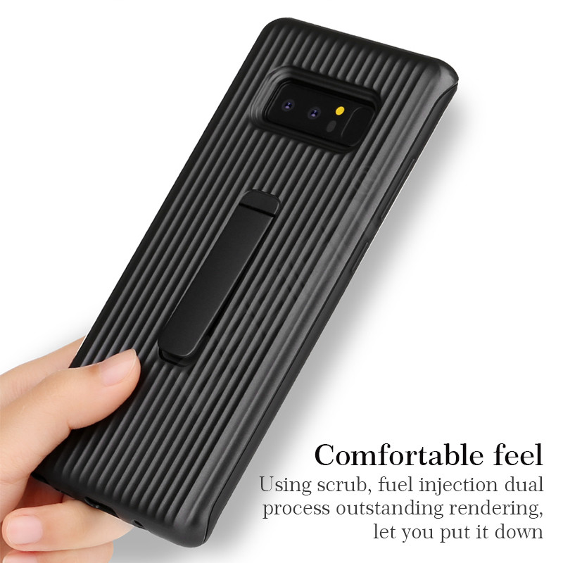 check out 0a0b9 b4a62 Essien For Samsung Galaxy Note 8 S9 Plus Protective Standing Cover Armor  Smart Bracket Phone Cases For Samsung S8 Plus S7 Edge