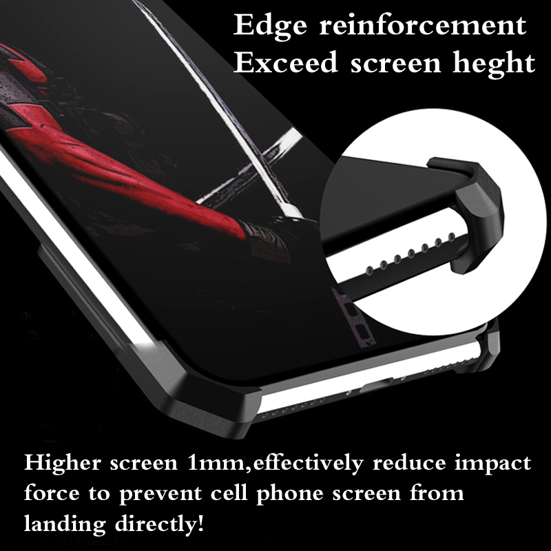 Metal Bumper Frame Case for iPhone 6 7 8 Heavy Duty Armor Shockproof Aluminum Alloy Protective Cover Shell in Phone Bumpers from Cellphones Telecommunications