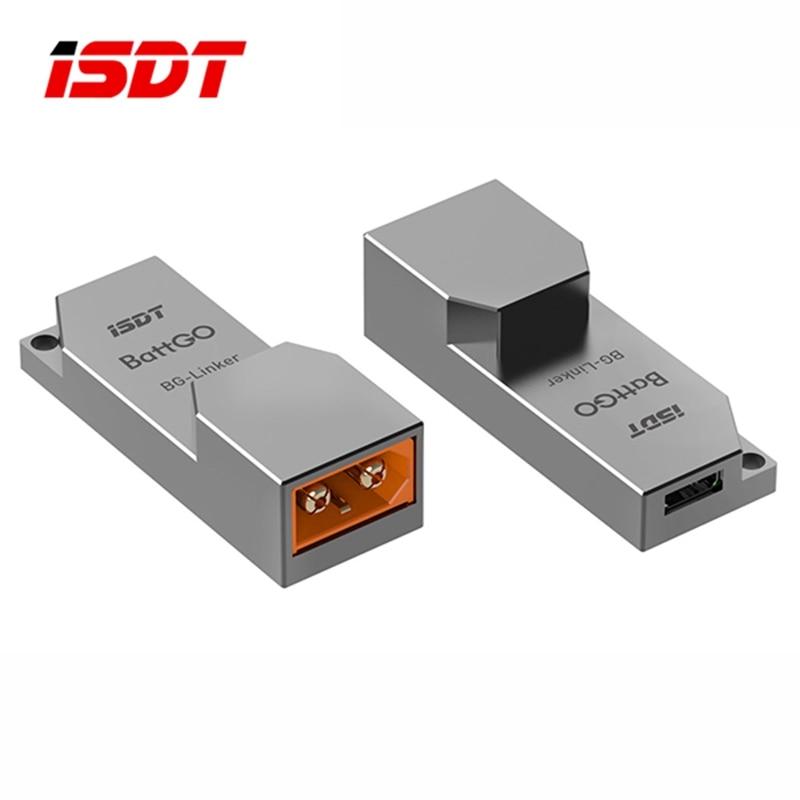 ISDT BG-Linker BattGO Smart Lipo Battery Linker Adapter for RC Rechargable Plug Converter USB Cable Charging Balance Charger DIY