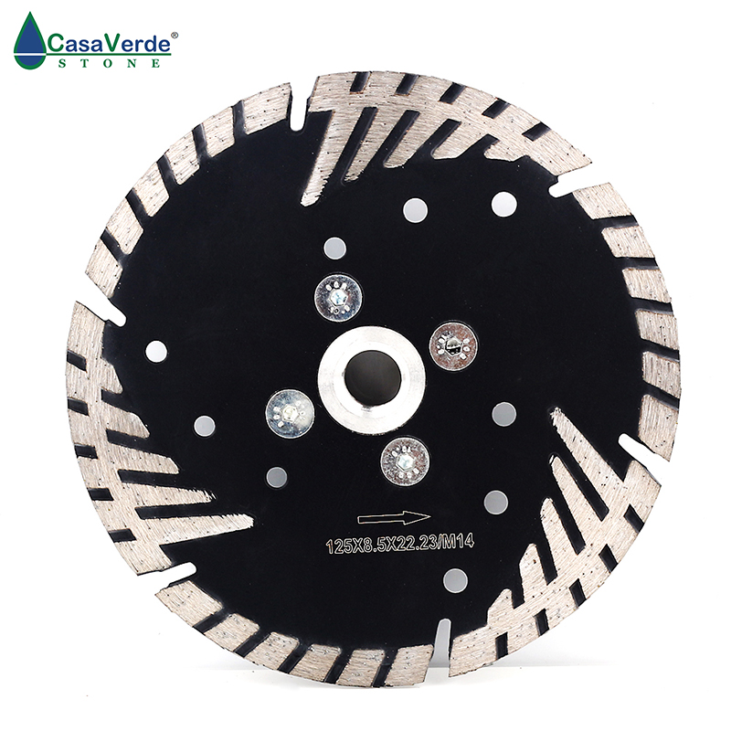 """5/"""" 125mm Diamond Grinding Cutting Wheel Disc Saw Blade with M14 Flange for Stone"""
