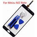 5.5 polegada tela de toque do painel de toque do telefone móvel para meizu m2 note Tela Outer Frente de Vidro da tela Para M2 Meilan Nota Sensor Touchscreen