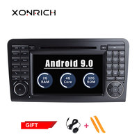 Autoradio Car DVD Player Double Din Android Car Stereo For Mercedes/Benz/GL ML W164 ML350 4GB RAM Android Radio DAB Wifi OBD