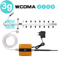 65dB Ripetitore 3G WCDMA Ripetitore Del Segnale 3G UMTS 2100 Mobile Cellulare Ripetitore di Segnale Amplificatore 3G Amplifi Antenna display LCD