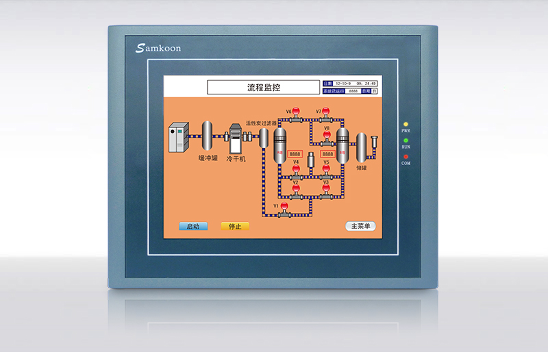 SA-8B 8 TOUCH SCREEN & HMI PANEL WITH PROGRAMMING CABLE AND SOFTWARE,HAVE IN STOCK et100 10 1 inch kinco hmi touch screen panel et100 with programming cable