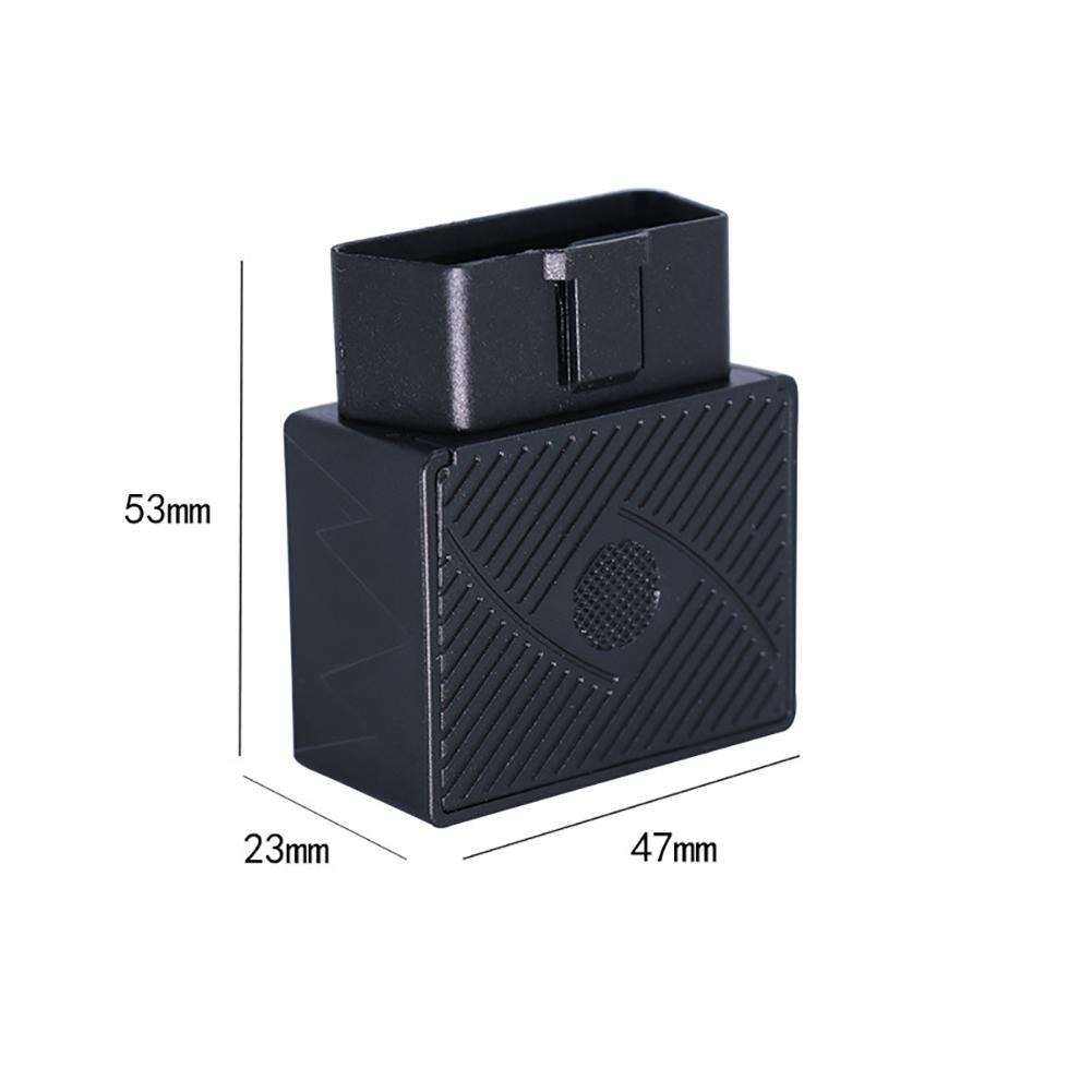Car GPS Locator Satellite Tracking Tracker Car OBD Burglar Alarm Multi function Alarm With SOS Alarm Geo fence Free App Charging in GPS Trackers from Automobiles Motorcycles