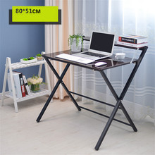 Simple folding desk laptop desk modern sidebed table