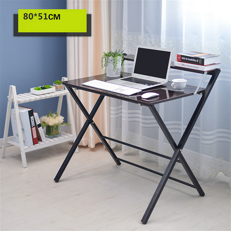 Simple folding desk laptop desk modern sidebed table free installation simple folding desk modern portable dinner table 60 40cm