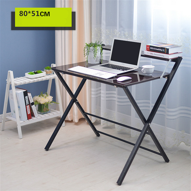 Simple folding desk laptop desk modern sidebed tablein Laptop Desks