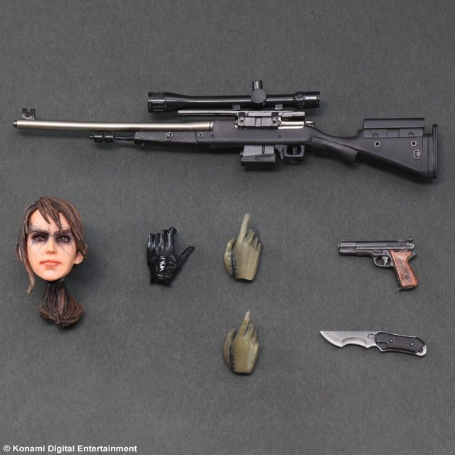 Фигурка Metal Gear Solid 25 см PlayArts 5