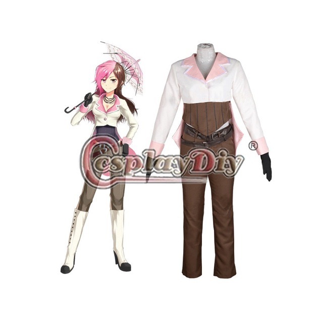 Cosplaydiy Neopolitan Neo RWBY Cosplay Costume For Adult Carnival Halloween Party Custom Made D0414