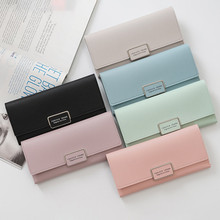 fashion Wallet long Zipper Multi Card Position Leather Coin Purse women Card Holder Leather wallet women casual wallet