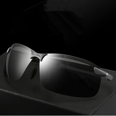 Polarized Night Vision Mirror Day and Drivers Chromatic Sunglasses for Men Driving