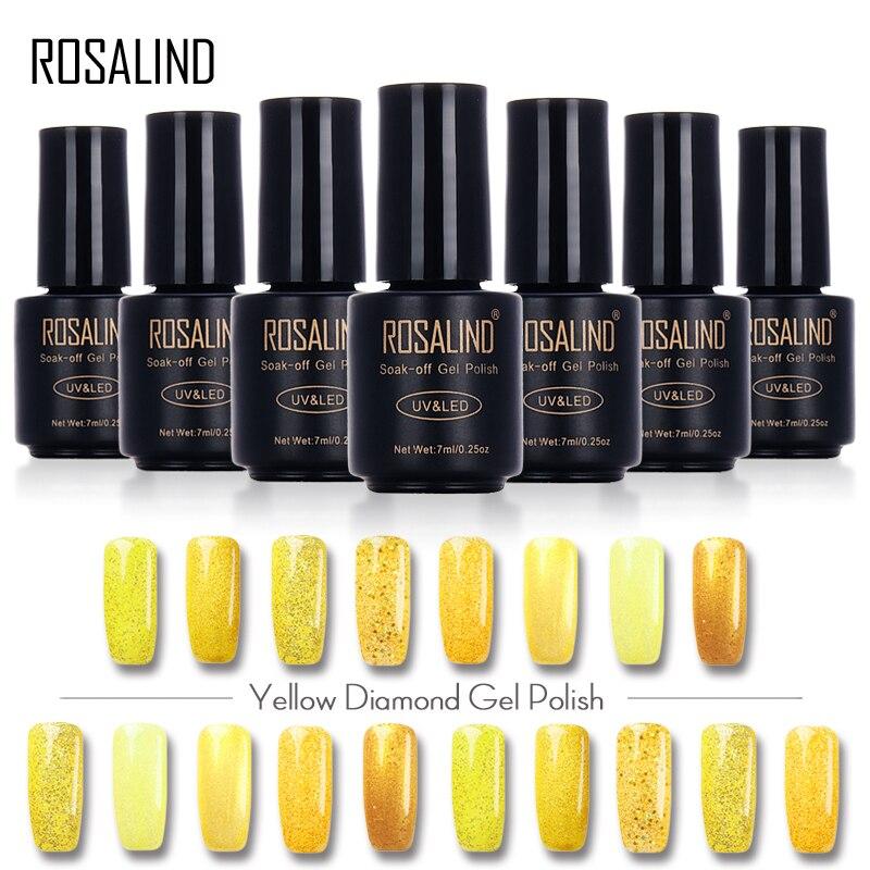 Aliexpress.com : Buy ROSALIND YELLOW Diamond 7ML Color
