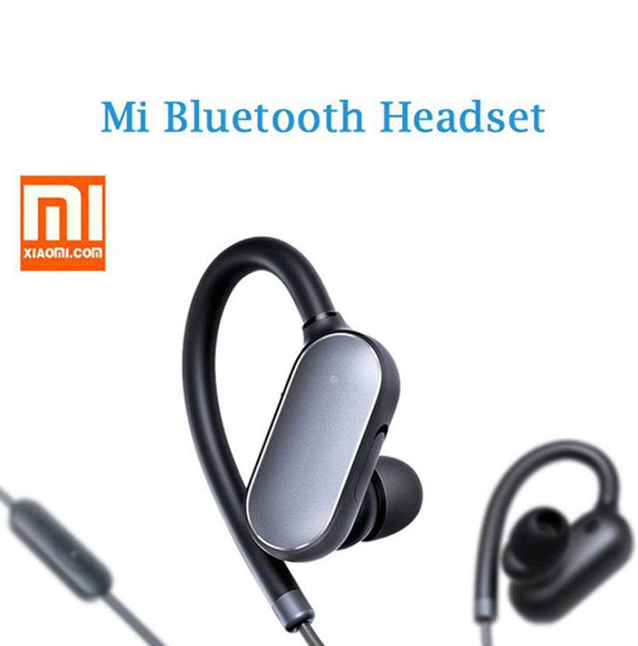 MI Wireless Sports Bluetooth Headphones In-Ear Stereo Earbuds Earphones with Mic & Sweatproof for iPhone Android Smartphone US
