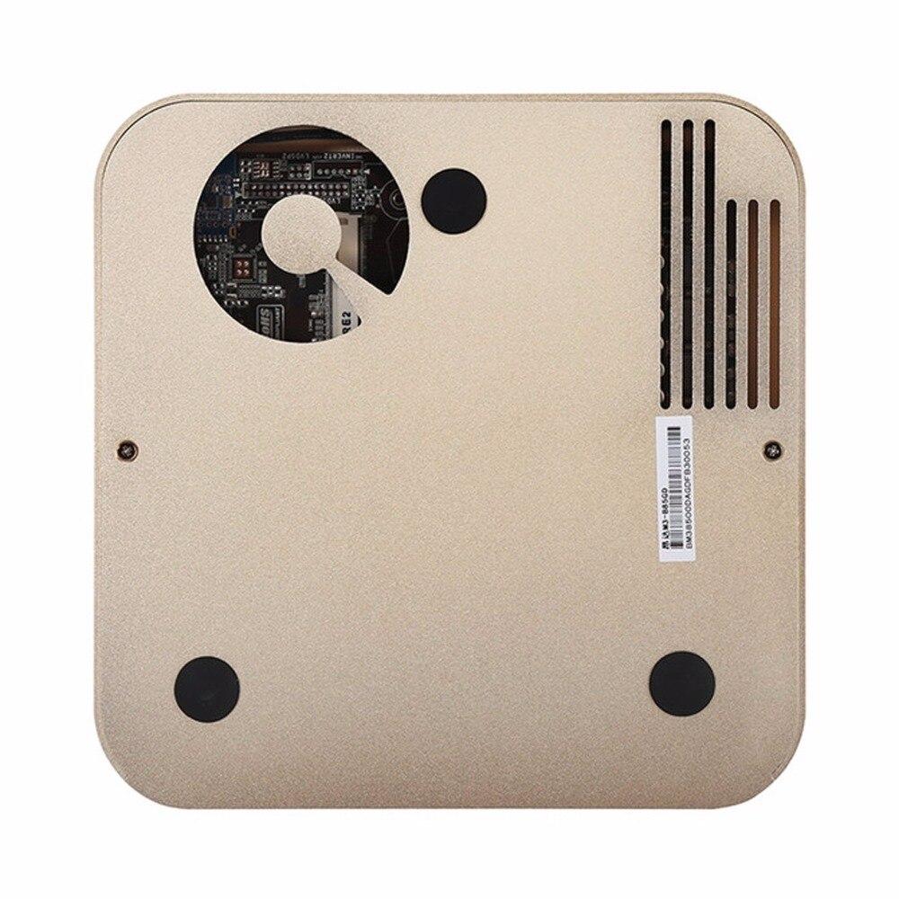 Оригинальный ONDA m3-b81 Оконные рамы 10 Intel Celeron G1840 Алюминий сплав Мини-ПК Оперативная память 4 ГБ Встроенная память 120 ГБ Поддержка Wi-Fi/ bluetooth/VGA