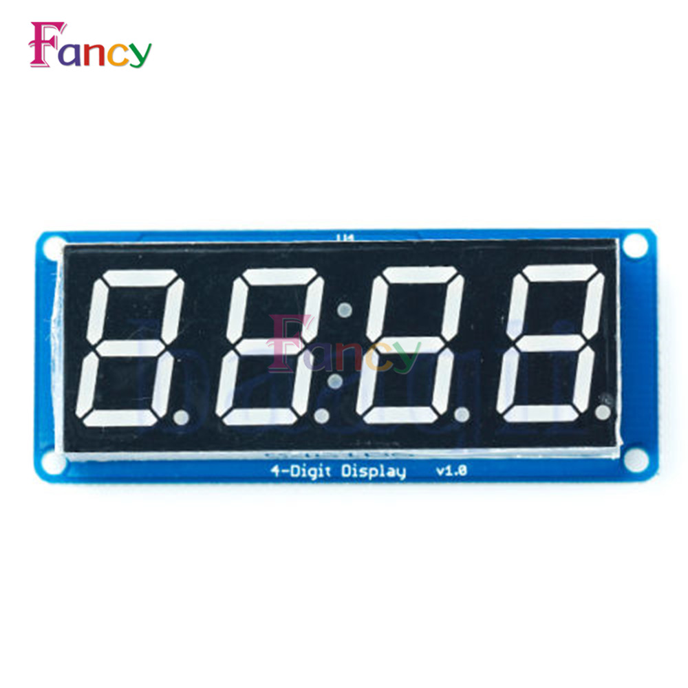 Standard LED 4-Digit 0.56 Tube Display D4056A Module with Decimal Point for Arduino