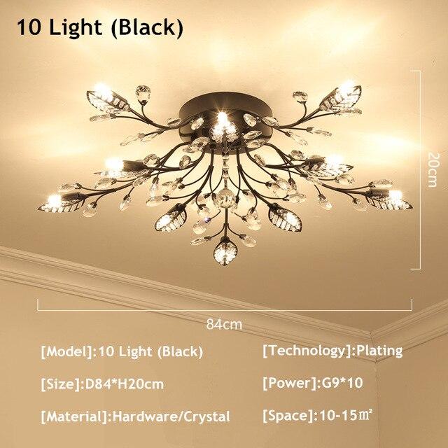 10 Lights Black