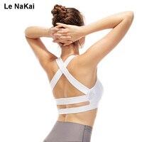 Glamour Girl Sports Bra Women Wide Elastic Straps Yoga Gym Top Bra RemovablePadding Fitness Bra For Women Activewear Jogging Bra