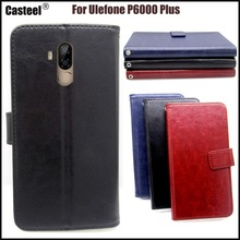 Casteel Classic Flight Series high quality PU skin leather case For Ulefone p6000 plus Case Cover Shield стоимость