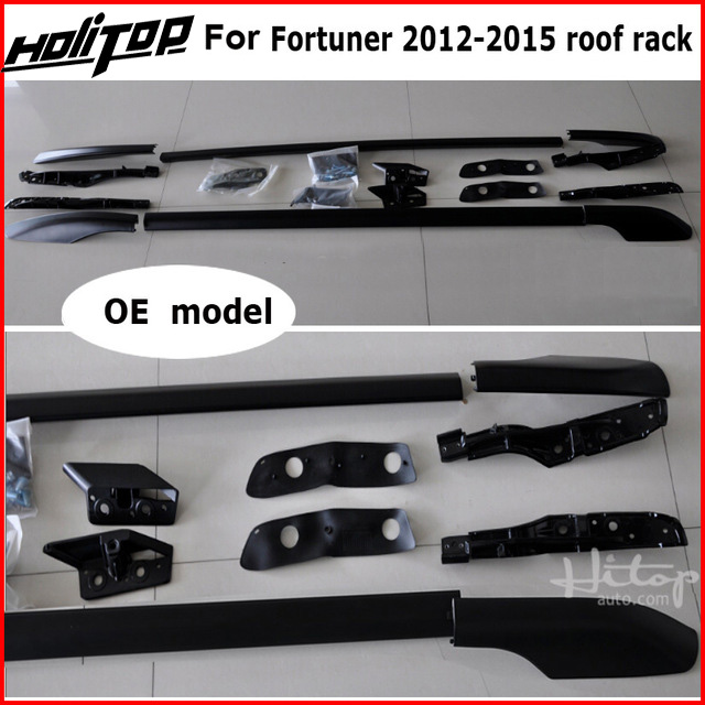 roof rack roof bar roof rail for Toyota old Fortuner 2011-2015, aluminum alloy+ABS, original design, promotion price kadore toyota 2011 5dr abs