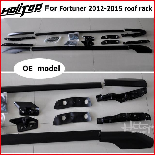 цена на roof rack roof bar roof rail for Toyota old Fortuner 2011-2015, aluminum alloy+ABS, original design, promotion price