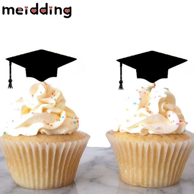Ben noto MEIDDING 12 pz Graduation Cap Stuzzicadenti Paglia Decorare Festa  EG55