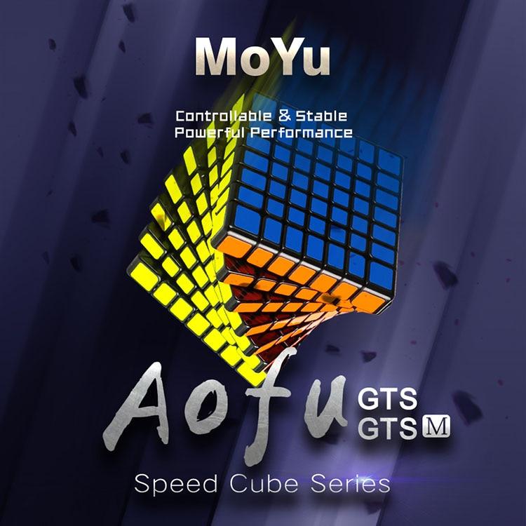 Nouveau Original Moyu Aofu GTS M 7x7x7 Cube magnétique professionnel GTSM 7x7 Magic Speed Cube GTS 7 M Twist jouets éducatifs pour enfants