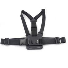 Chest Strap mount belt for Gopro hero 5 4 Xiaomi yi 4K Action camera Chest Mount Harness for Go Pro SJCAM SJ4000 sport cam fix цена