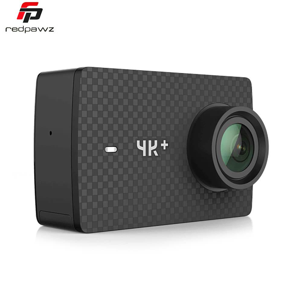 Prix pour D'origine yi 4 k plus action sport caméra 4 k + xiaoyi 2.19 'ambarella h2 pour sony imx377 12mp 155 degrés 4 k ultra hd sport caméra
