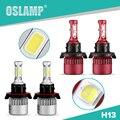 Hi-lo Oslamp 2WD 4WD Viga H13 Del Coche Kits de Faros Led 2 unids Alta/luz de Cruce Bombillas de Los Faros de Automóviles para SUV 6500 K COB/SMD Chip