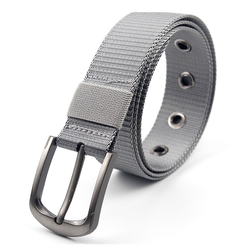 Men Belt Outdoor Fashion Casual multi-purpose Portable Belts For Male Leisure Woven Canvas Buckle Waist Belt