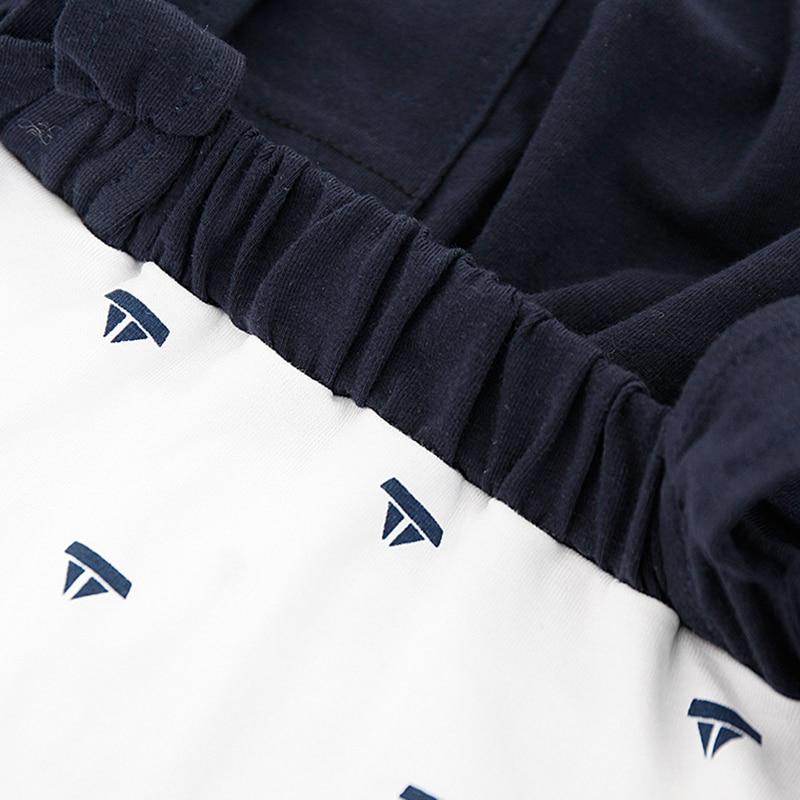 Nowe letnie pajacyki dla niemowląt Chłopcy ubrania kraciaste - Odzież dla niemowląt - Zdjęcie 4