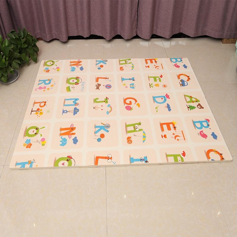 Նորածինների փայլում 6 հատ XPE Baby Play Mat - Խաղալիքներ նորածինների համար - Լուսանկար 2