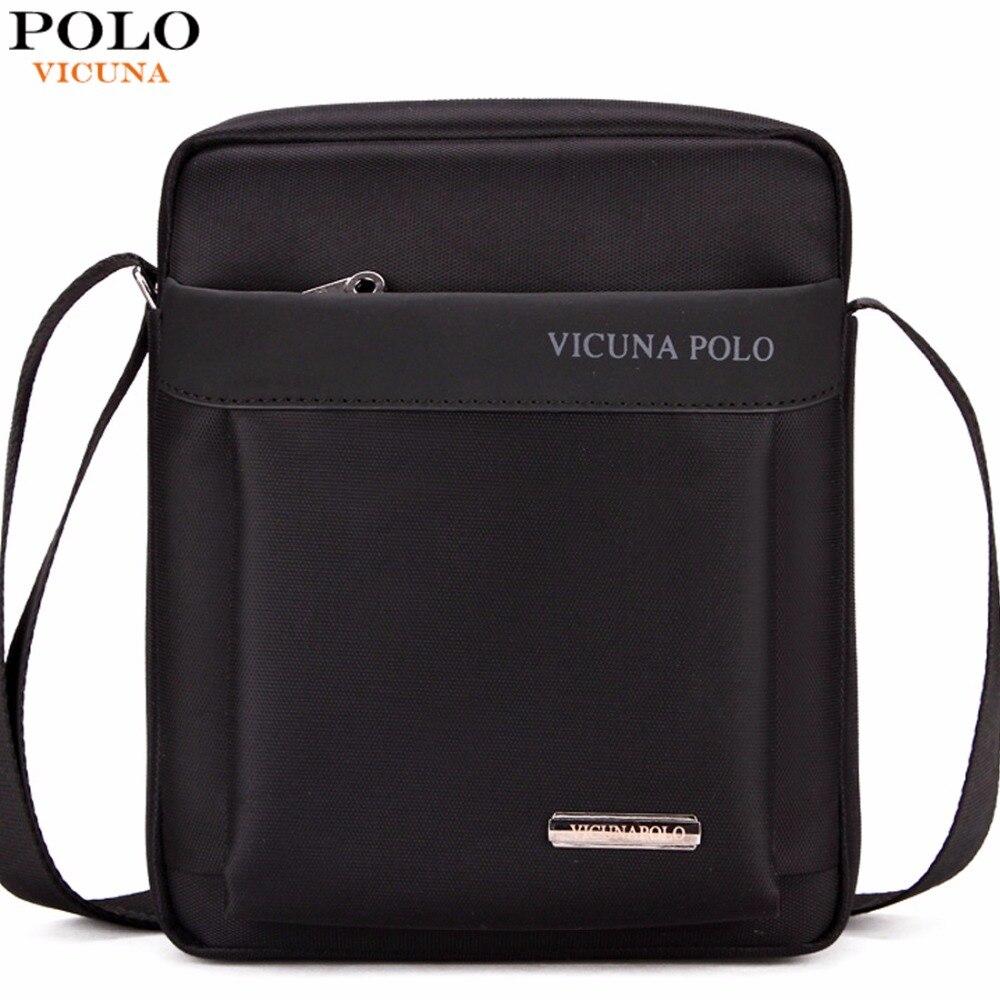 VICUNA POLO Light Weight Oxford Mens Messenger Bags For iPad Durable Fashion Men Shoulder Bag Small Mens Sling Bag Dropshipping
